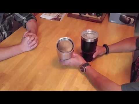 Talking Yeti and Ozark Rumbler Tumblers with a Twist