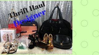 Designer Thrift Haul With $1000 jackets!!!