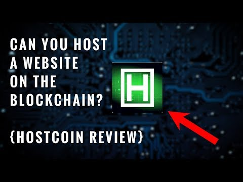 Can you host a website on the blockchain? { Hostcoin Review }