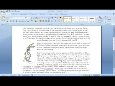 The Picture Anchor Tool in Microsoft Word
