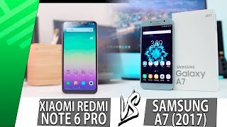 Xiaomi Redmi Note 6 Pro VS Samsung A7 (2017) | Enfrentamiento | Top Pulso