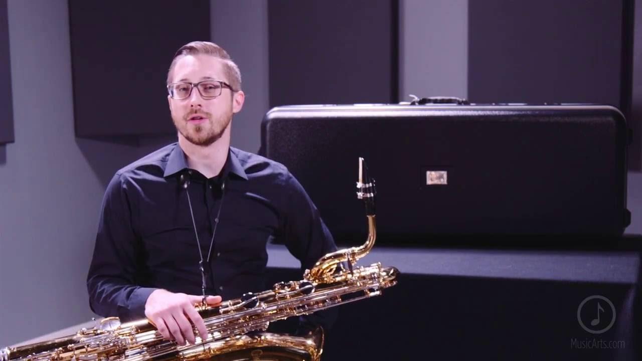 giardinelli gbs 300 baritone saxophone youtube
