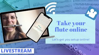 How to take your flute online: lessons, resources and much more