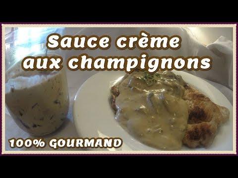 recette-de-sauce-champignon-à-la-crème-fraiche