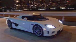 【辰巳PA】スーパーカー加速サウンド/Supercars sound in Tatsumi. Aventador, CCX, F12, Vanquish more