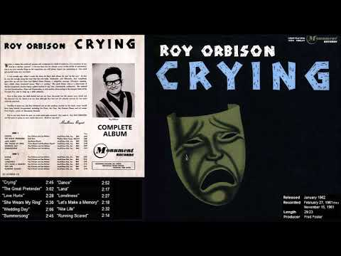 Crying - Roy Orbison (complete album)