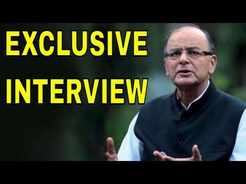 Exclusive Interview of FM Arun Jaitley