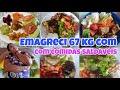 Reeducação alimentar//emagrecer 67 kilos//alimentação acessível