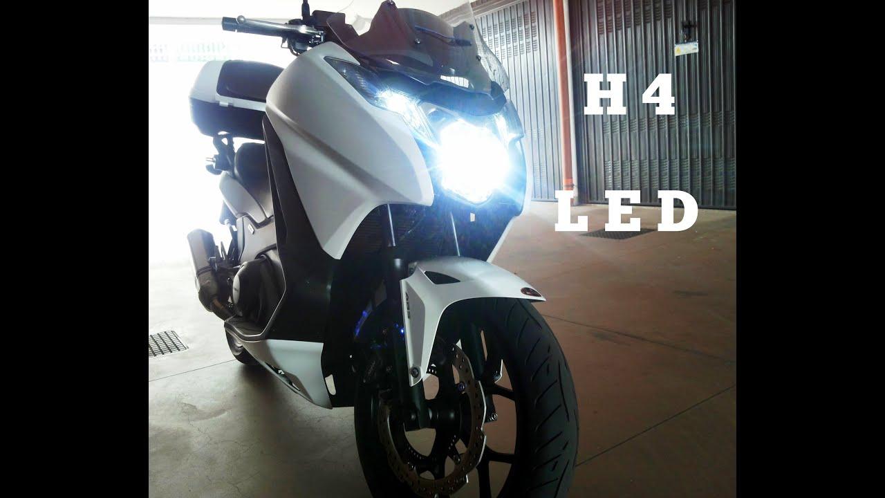 Conversion H4 Led 6000k Honda Integra Video 4k Youtube