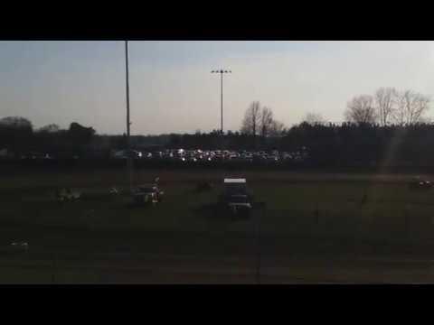 Logan Seavy Qualifying  Kokomo Speedway