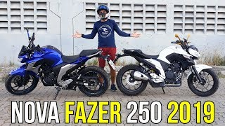 TESTEI A FAZER 250 2019 NA RUA DO TREINO