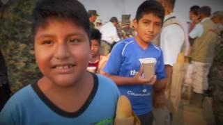 El Ejército del Perú apoyando a damnificados por Huaicos