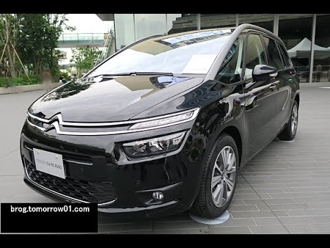 citroen grand c4 picasso exclusive plus black youtube. Black Bedroom Furniture Sets. Home Design Ideas