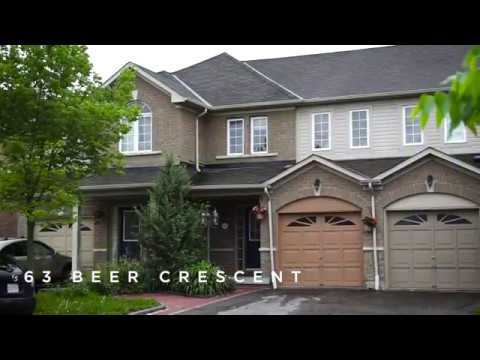63 Beer Cres, Ajax For Sale