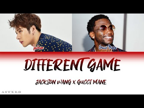 JACKSON WANG (FT.GUCCI MANE)-DIFFERENT GAME LYRICS [ENG]