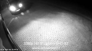 Camera beveiliging met infrarood nachtzicht