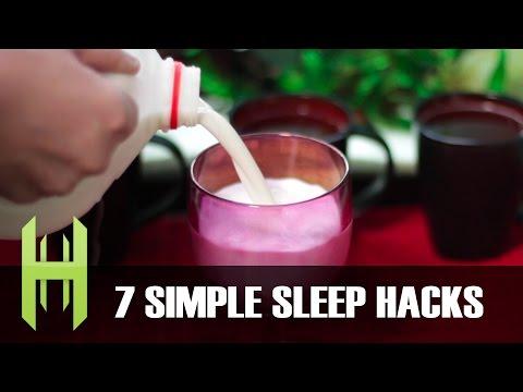 7 Simple Sleep Hacks!