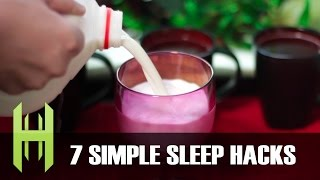 life hacks to fall asleep