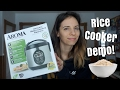 AROMA DIGITAL RICE COOKER UNBOXING + DEMO