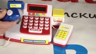 видео Игрушечный магазин, весы, тележки и детскую кассу купить в нашем интернет магазине