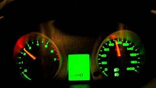Гранта АКПП. 60-160 кмч.ч. расход, обороты, сверка с GPS.