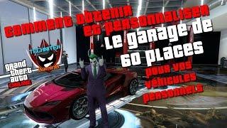 GTA 5 Online : Obtenir et personnaliser le garage de 60 places pour vos véhicules personnels