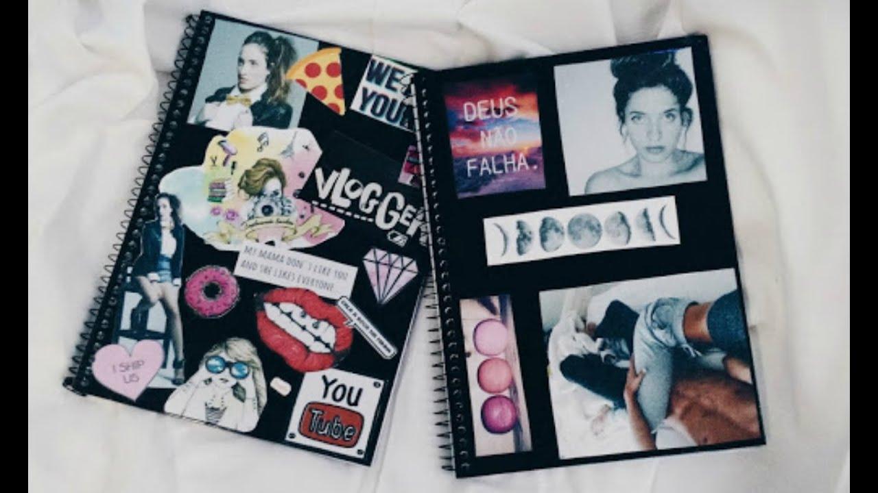 Resultado de imagem para cadernos tumblr