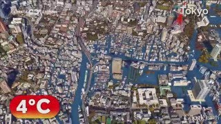 What will Tokyo look like if we don't fight climate change? Japanese