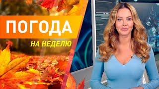 Погода на неделю с 27 сентября по 3 октября 2021. Прогноз погоды. Беларусь Метеогид
