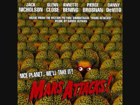 Mars Attacks! (1996) Official Original Soundtrack by Danny Elfman