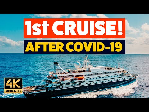 WE ARE ON THE FIRST CRUISE!! What's It Like?