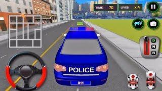 Juegos de Carros Policias - Conductor de Carro Policia - Juegos de Carreras de Autos