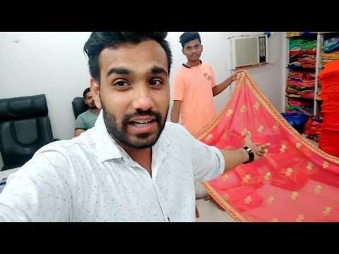 Sarees Wholesale Market In Surat साड़ी ख़रीदे सीधा सूरत के मनुफक्चरर्स से || Biggest Saree Maretk