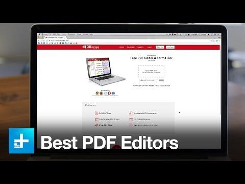 The Best Free And Premium PDF Editors