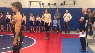 Annie Mae   National Anthem   first time singing