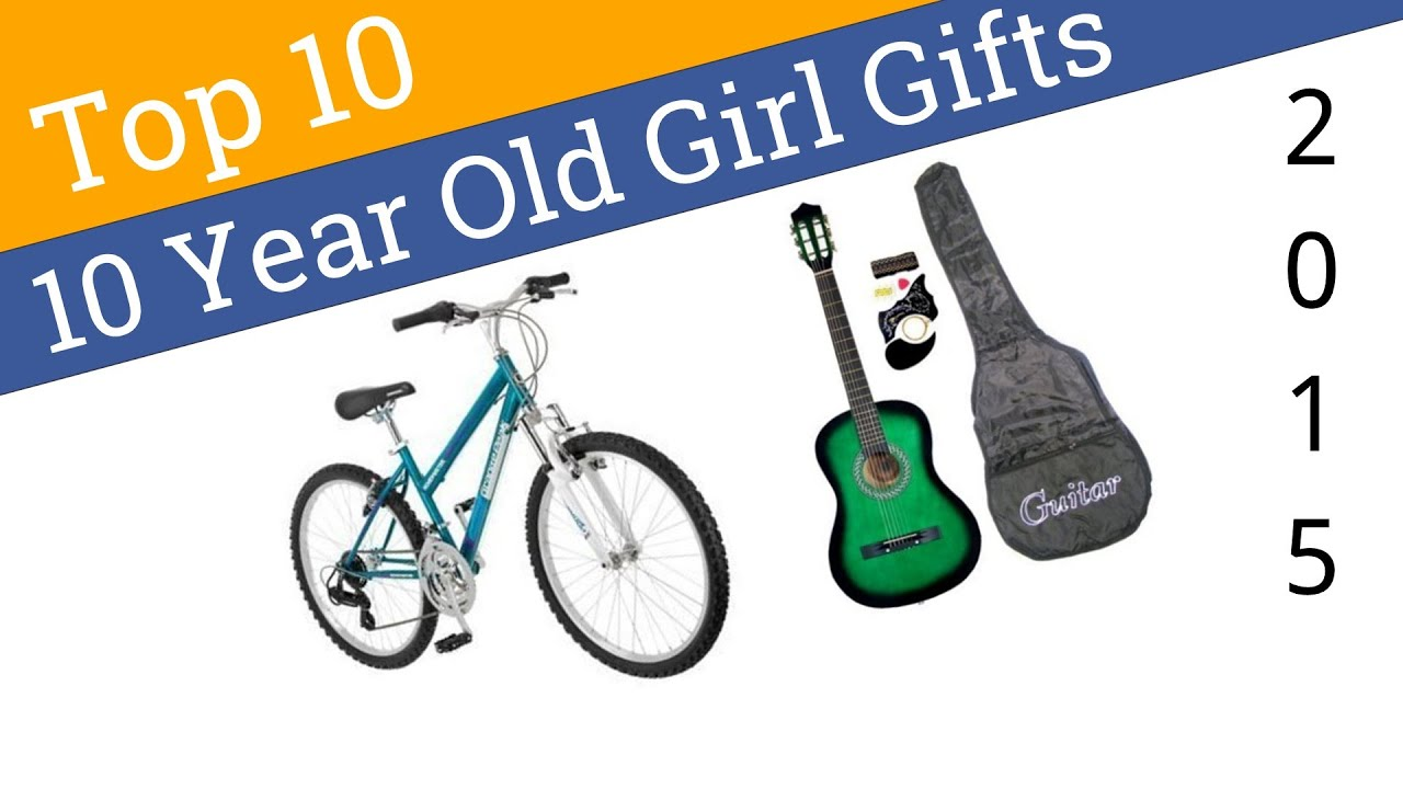 10 Best 10 Year Old Girl Gifts 2015 - YouTube