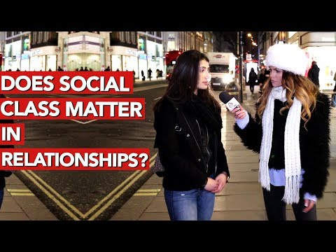 Does social class matter in relationships?