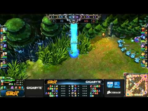 [SWL II] [Bảng A] [Game 2] All Gamers vs Invictus Gaming [22.01.2013]