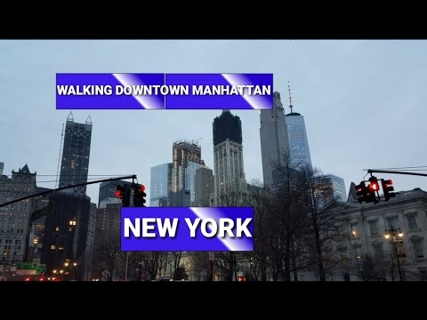 Downtown Manhattan - The Financial Distric