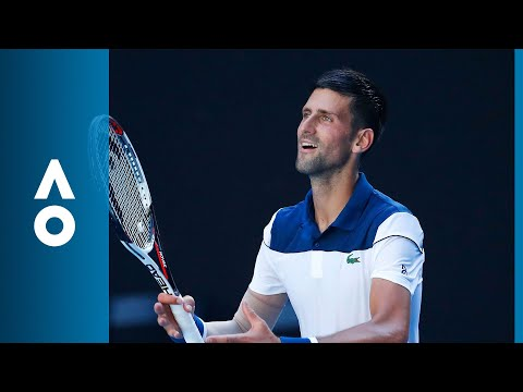 Novak Djokovic v Gael Monfils match highlights (2R) | Australian Open 2018