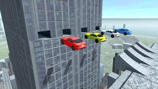 Meticulously Timed Stunts - beamng drive