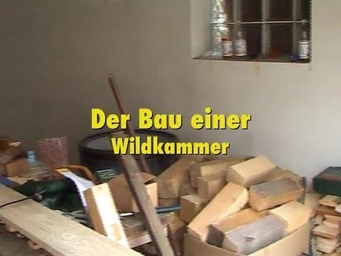 Einrichtung einer Wildkammer