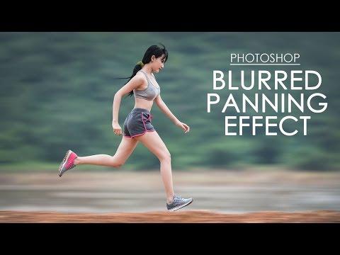 Blurred Panning Effect - Photoshop Tutorial [Photoshopdesire.com]