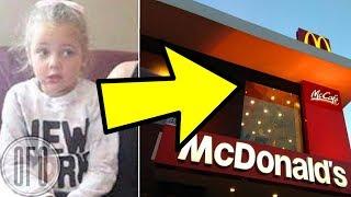 Вернувшись из Туалета в МакДональдсе, Эта Девочка Была Вся в К.Р.О.В.И