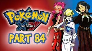 Pokemon X and Y Gameplay Walkthrough Part 84 -  Elite 4 Malva, Drasna, & Siebold
