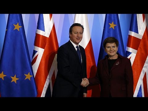 Cameron visits Romania and Poland seeking support for EU reform