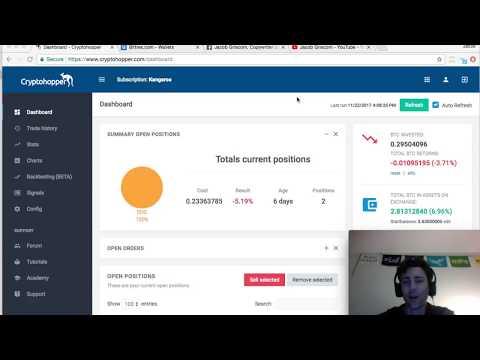 Cryptohopper – Cryptocurrency Trading Bot Review – Week 3