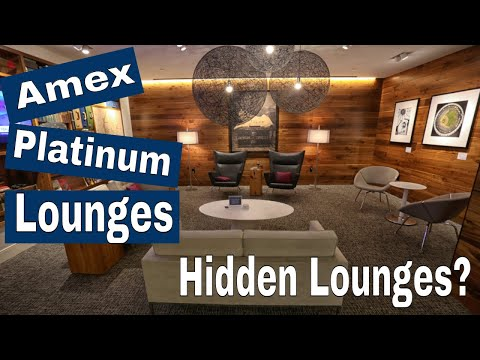 Amex Platinum Lounges Guide (Centurion Lounges & Beyond!)  (2019)