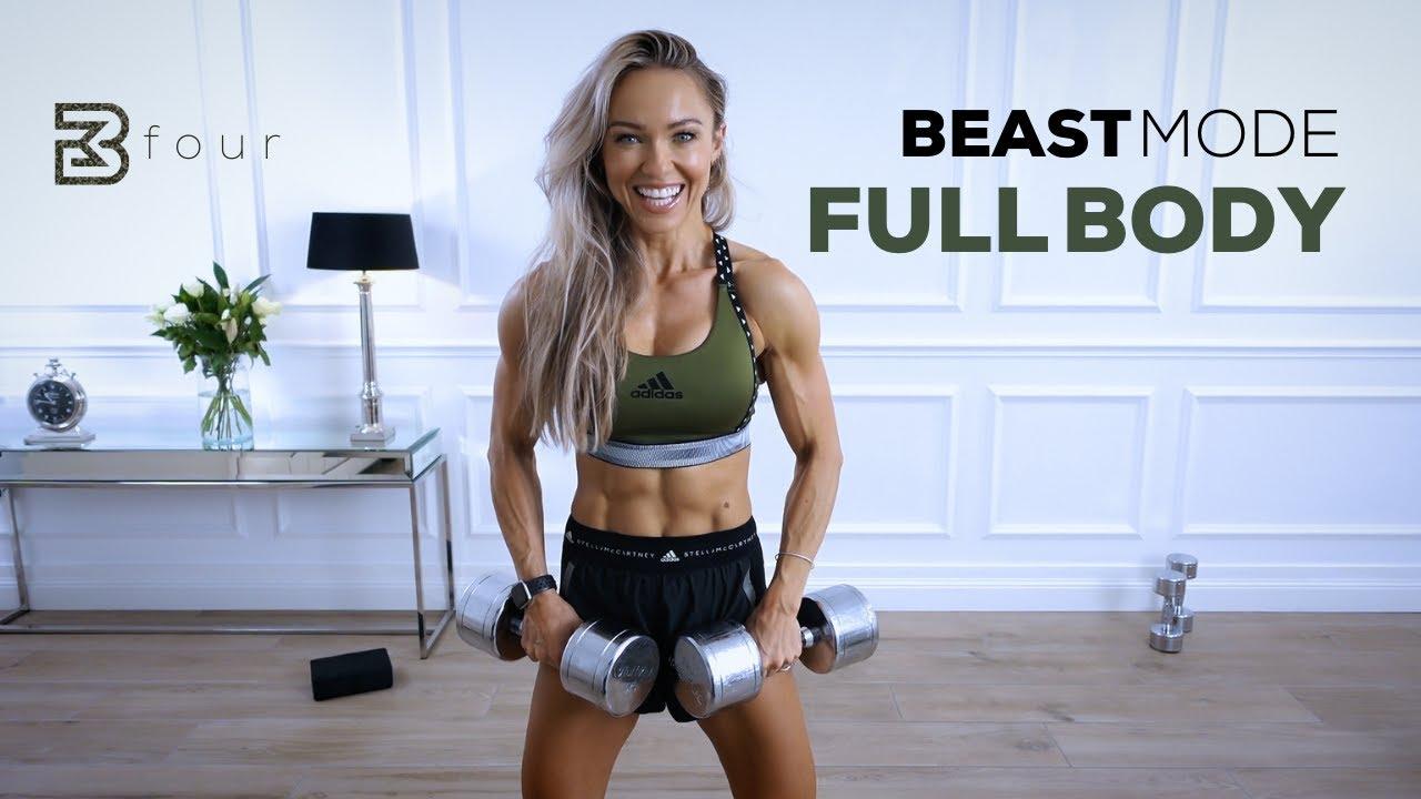 BEASTMODE FULL BODY WORKOUT - Intense Strength Training | Day 4