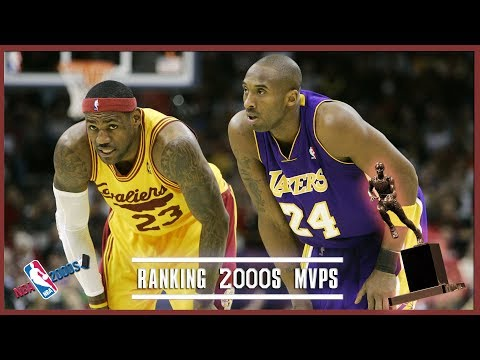 Ranking The NBA MVPs From The 2000s (NBA 2000s)